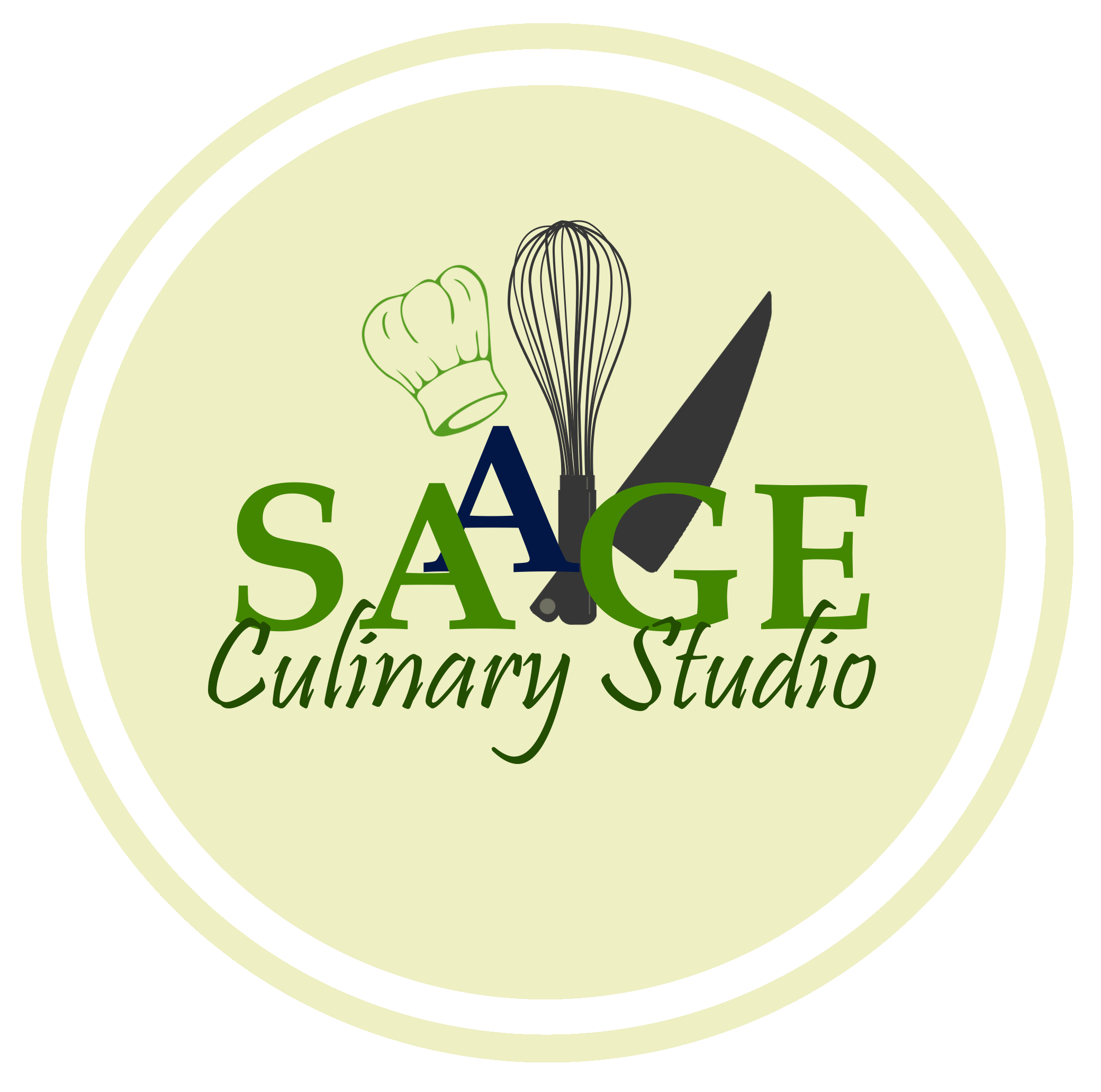 SAAGE Culinary Studio Circle Logo